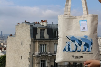 LE TOTEBAG BESSON FOR CHANGE