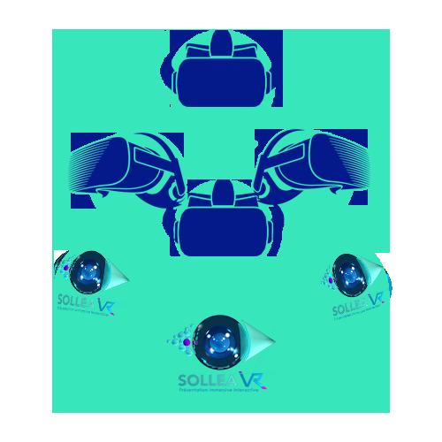 Réalité virtuelle collaborative et multiutilisateurs avec des casques autonomes