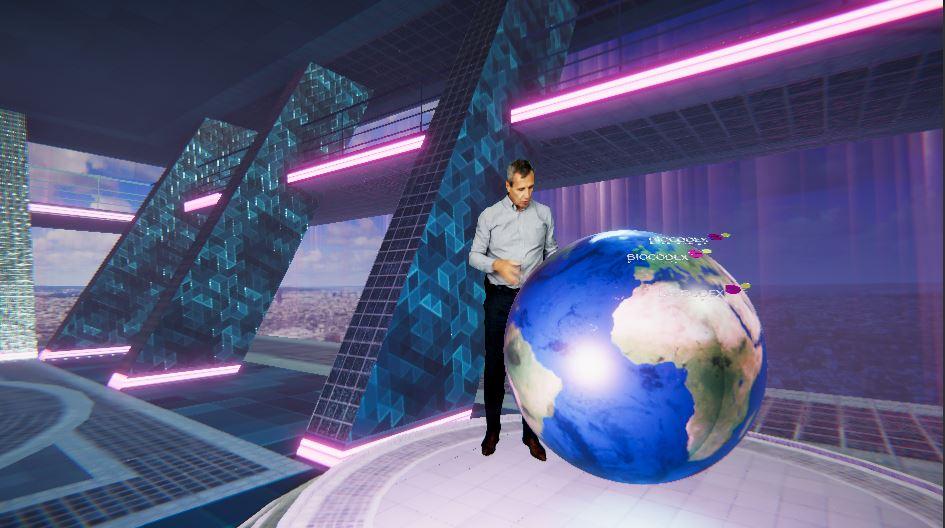 Studio Virtuel Mobile (les slides du futur) par Sollea VR