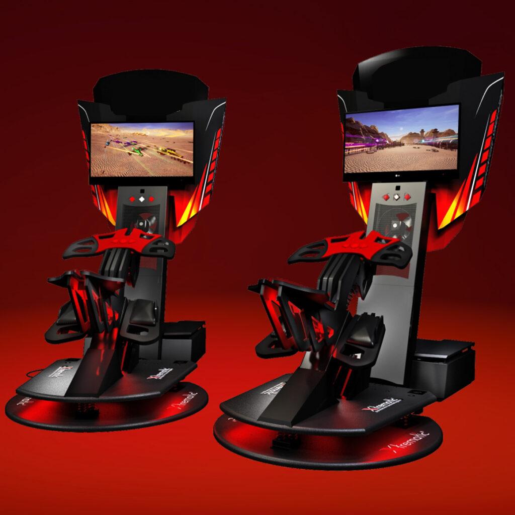 ARSCENIQUE X-BIKE VR MACHINE