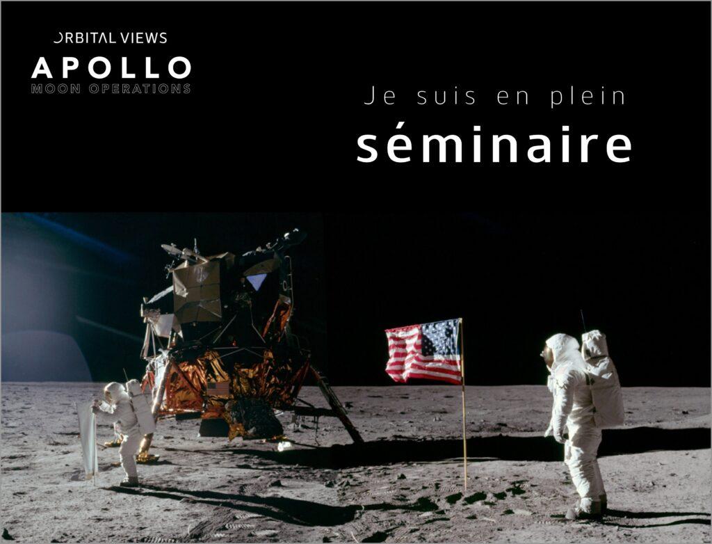 Apollo Moon Operations par Orbital Views